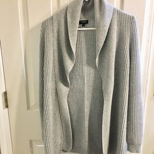 Light gray sweater from Talbots